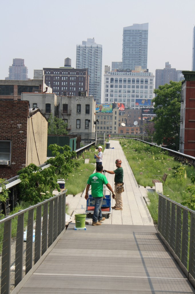 In 3rd Phase, High Line Park Confronts Crowds, High Buildings